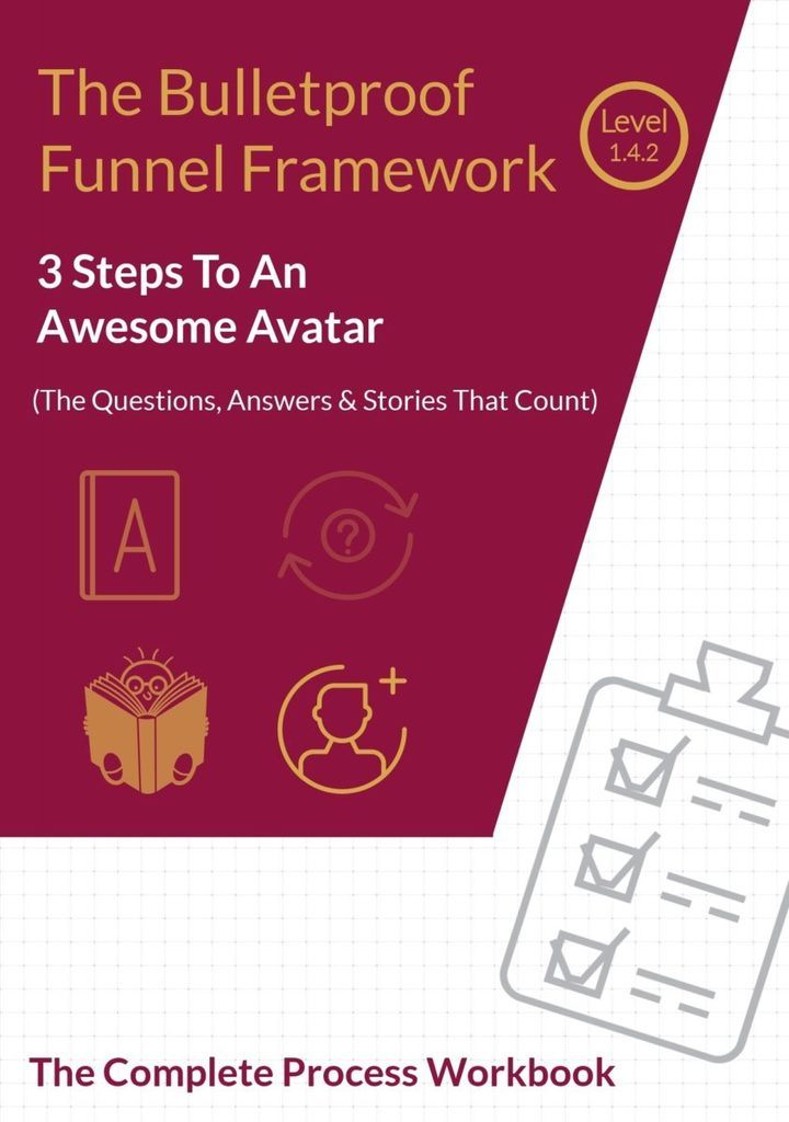 Steps To Create An Awesome Customer Avatar Checklist & Workbook