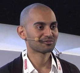 Neil Patel (with mic headpiece))